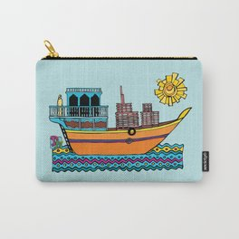 Dhow on the Creek by Dubai Doodles Carry-All Pouch