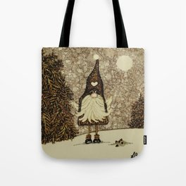 """""""Tomten Elmer"""" is trying out a different look. Tote Bag"""
