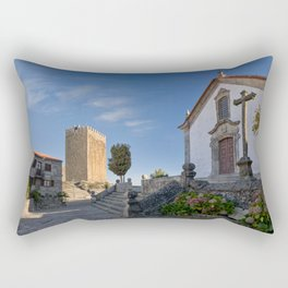 Linhares castle, Portugal Rectangular Pillow