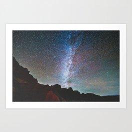 Too Many Stars To Fathom Art Print