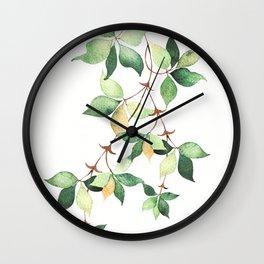 Tree Branch Wall Clock