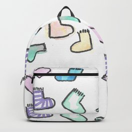 sock pattern Backpack