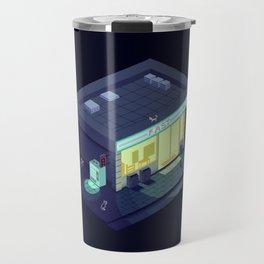 Pixelart Convenience Store Travel Mug