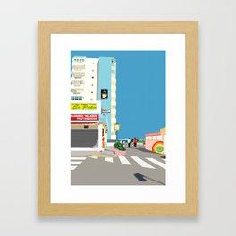 La Manga Beach Framed Art Print