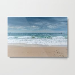 Storm over Norah Head Beach, Australia Metal Print