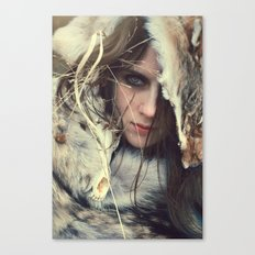 Coyote Girl Canvas Print