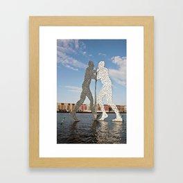 MOLECULMAN in BERLIN Framed Art Print