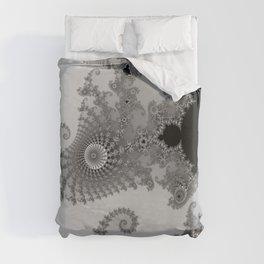 males mandelbrot abstract Duvet Cover