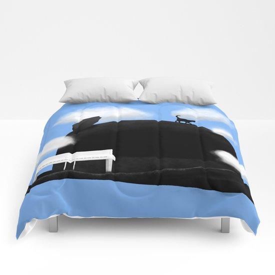 Gnossienne n°3 Comforters