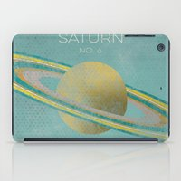 saturn iPad Cases featuring Saturn by Metron