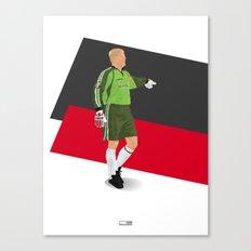 Peter Schmeichel - Manchester United goalkeeper  Canvas Print