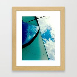 A Beautiful Day for Sailing Framed Art Print