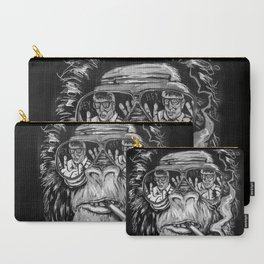 Monkey glasses Carry-All Pouch