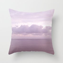 Pastel Seascape I Throw Pillow