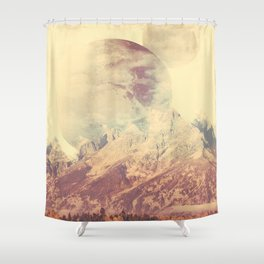 PLANETARY CONFUSION Shower Curtain