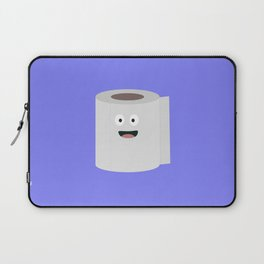 Toilet paper with face Laptop Sleeve