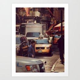 A LAMA IN NEW YORK ***  NEVER STOP EXPLORING VIII Art Print