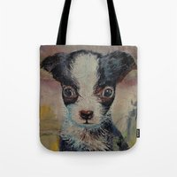 shakespeare Tote Bags featuring Shakespeare by Michael Creese
