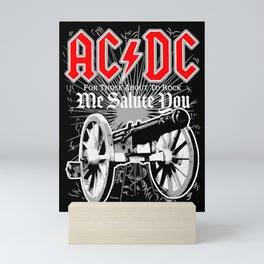 AC/DC - We Salute You Mini Art Print