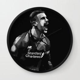 Captain Henderson Goal  Wall Clock
