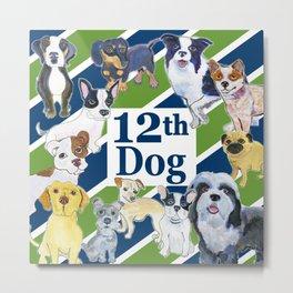 12th dog Metal Print