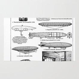 Airships / Air Balloons II Rug