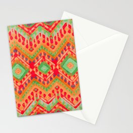 itzel - candy + lime Stationery Cards