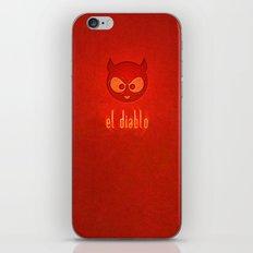 el diablo iPhone & iPod Skin