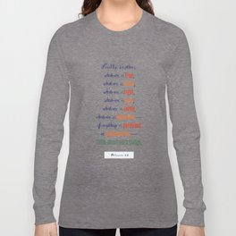 Think About Such Things . . . Long Sleeve T-shirt