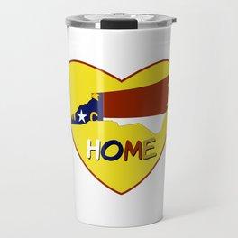 Home Tees: North Carolina Is My Home T-Shirt Travel Mug