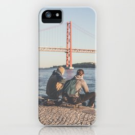 SKATE AND ENJOY iPhone Case