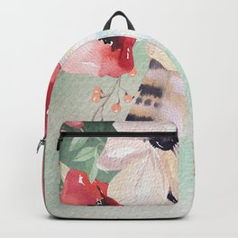 Flowers bouquet #54 Backpack