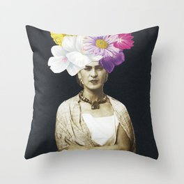 Beautiful Frida Throw Pillow