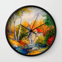 Mill Wall Clock