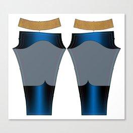 Superhero Leggings - Male Canvas Print