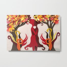 Autumn kiss 2 Metal Print