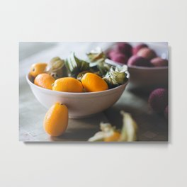 My Diet Metal Print