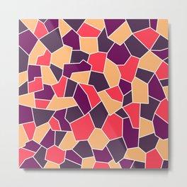 Hard Mosaic 03 Metal Print