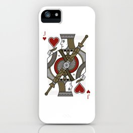 Omnia Illumina Jack of Hearts iPhone Case