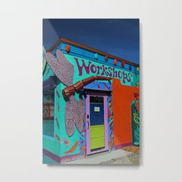 The Workshop-vertical Metal Print