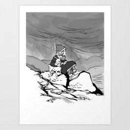 Sami Deer Art Print