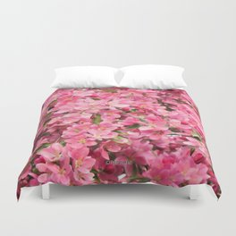 Crab Apple - Pommetier Duvet Cover