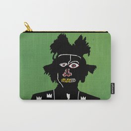 Basquiat illustration Carry-All Pouch