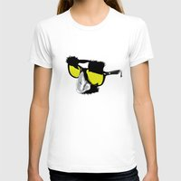 marx T-shirts featuring Groucho Marx by Michelle Eatough