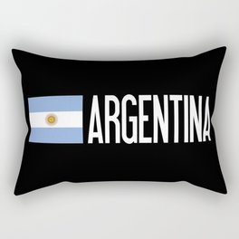 Argentina: Argentinian Flag & Argentina Rectangular Pillow
