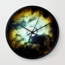 The Darkness Comes Wall Clock