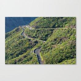 Teno Mountains, Tenerife Canvas Print