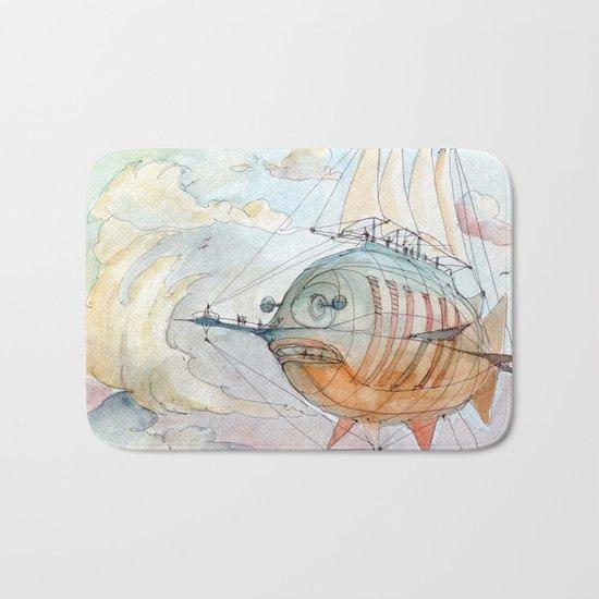 The Flying Fish! Bath Mat