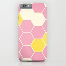 Pink Honeycomb iPhone 6s Slim Case