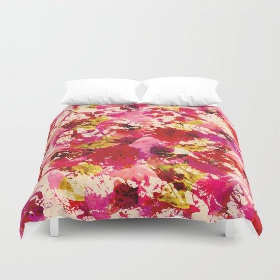 abstract summery garden Duvet Cover